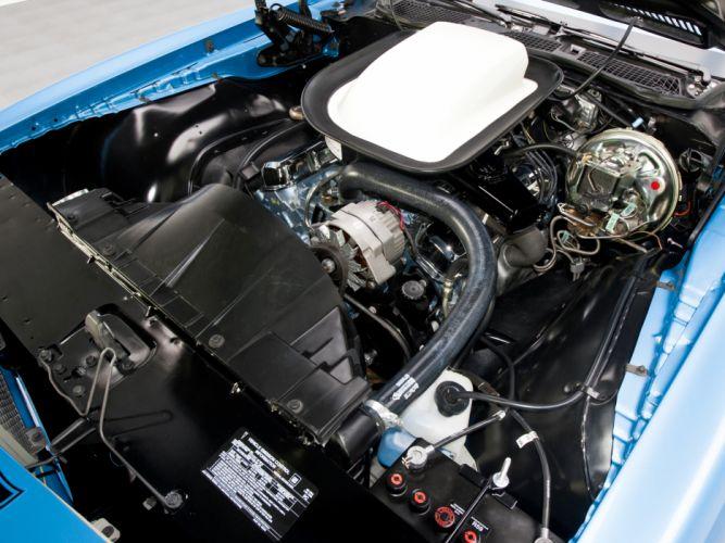 1970 Pontiac Firebird Trans-Am Ram Air III muscle classic engine engines wallpaper