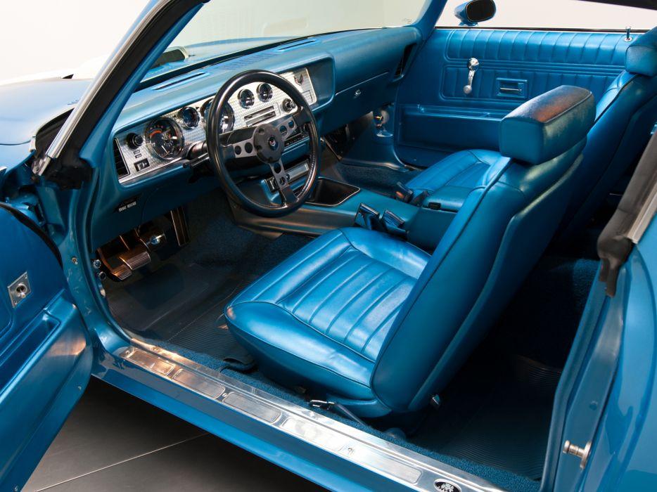 1970 Pontiac Firebird Trans-Am Ram Air III muscle classic interior wallpaper