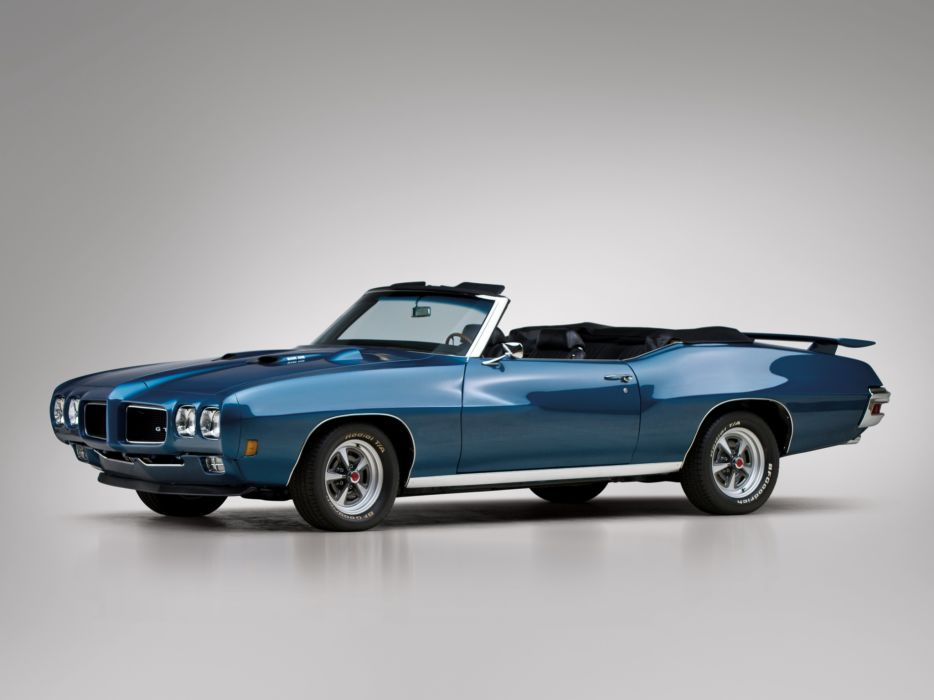 1970 Pontiac GTO Convertible 4267 muscle classic       g wallpaper