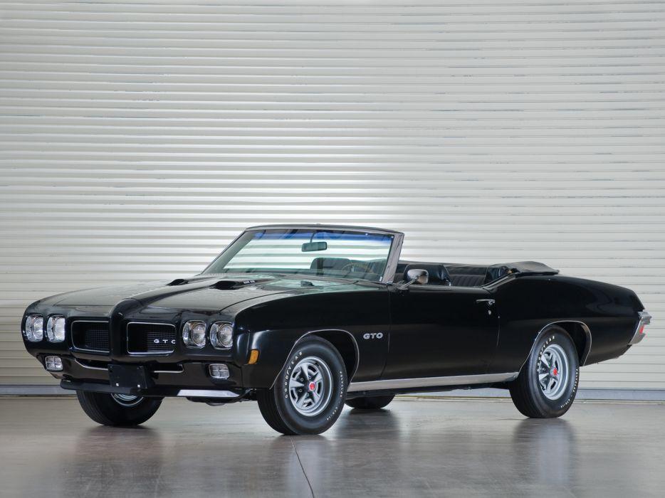 1970 Pontiac GTO Convertible 4267 muscle classic    g wallpaper