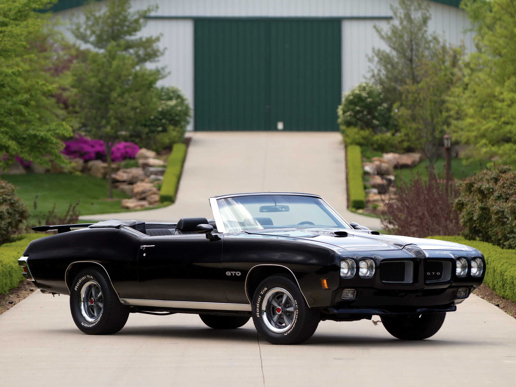 1970 Pontiac GTO Convertible 4267 muscle classic g ...