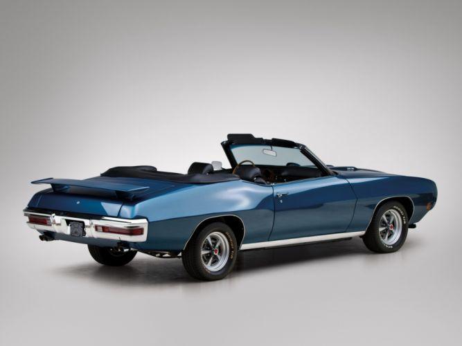 1970 Pontiac GTO Convertible 4267 muscle classic gg wallpaper