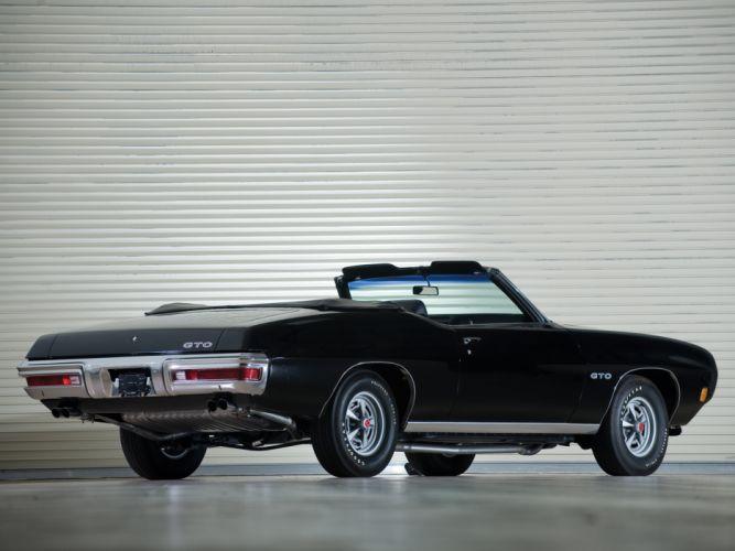 1970 Pontiac GTO Convertible 4267 muscle classic ge wallpaper