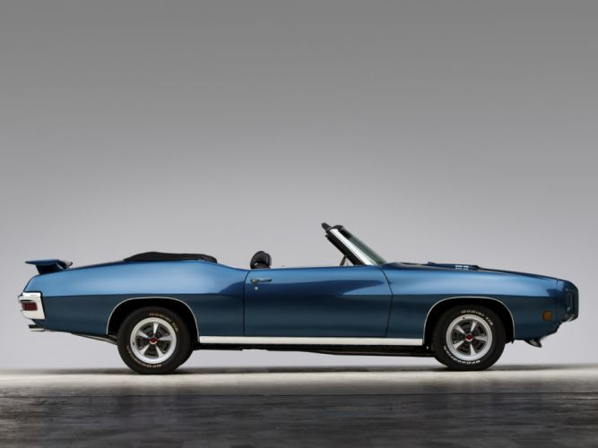 1970 Pontiac GTO Convertible 4267 muscle classic wallpaper