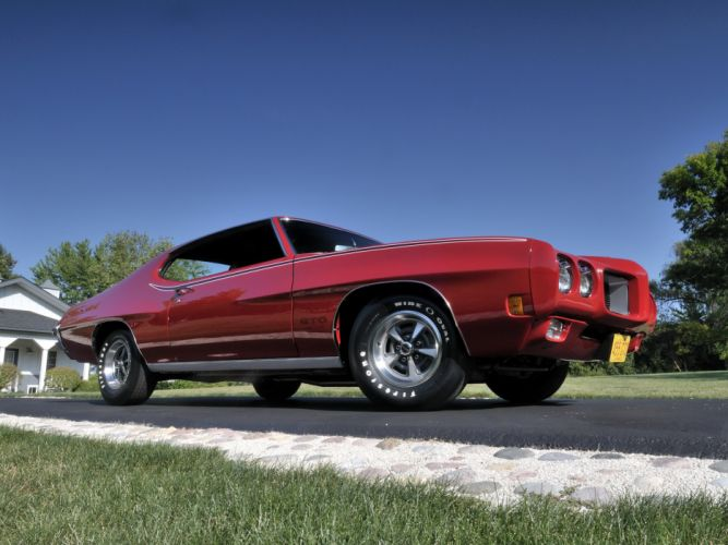 1970 Pontiac GTO Hardtop Coupe 4237 muscle classic h wallpaper