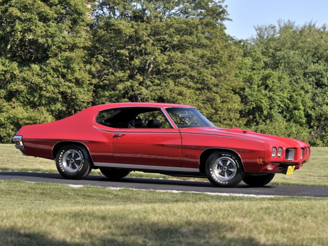 1970 Pontiac GTO Hardtop Coupe 4237 muscle classic f wallpaper