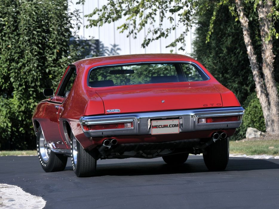 1970 Pontiac GTO Hardtop Coupe 4237 muscle classic  g wallpaper