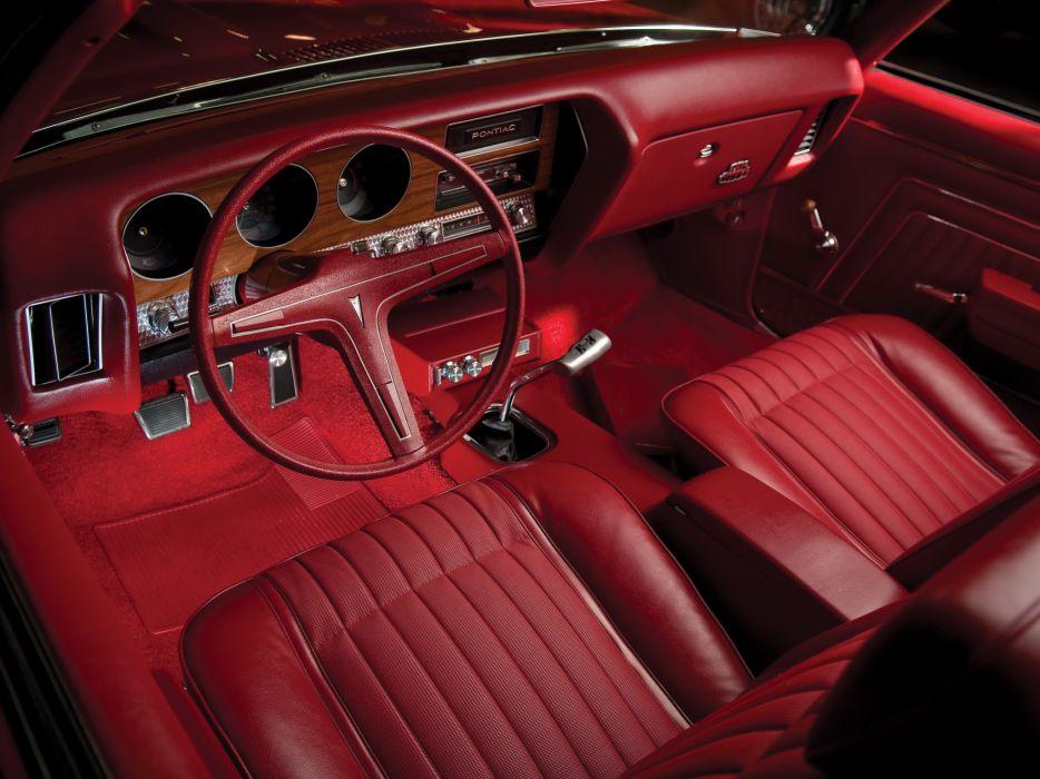 1970 Pontiac GTO Judge Convertible 4267 muscle classic interior wallpaper
