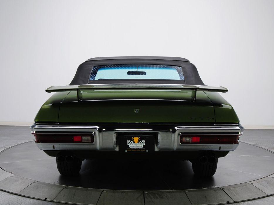 1970 Pontiac GTO Judge Convertible 4267 muscle classic     h wallpaper