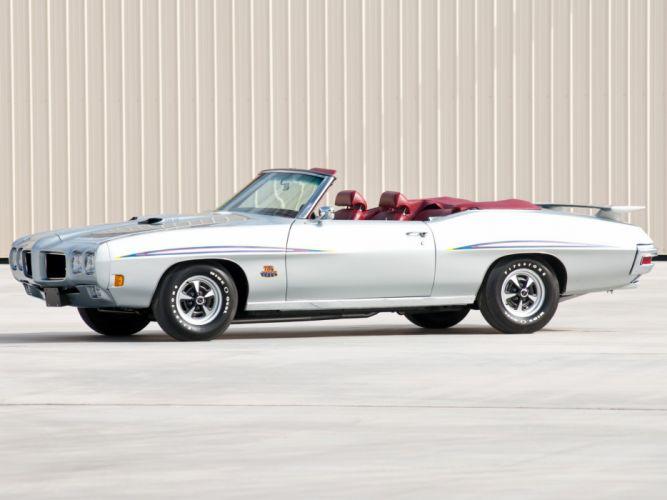 1970 Pontiac GTO Judge Convertible 4267 muscle classic g wallpaper