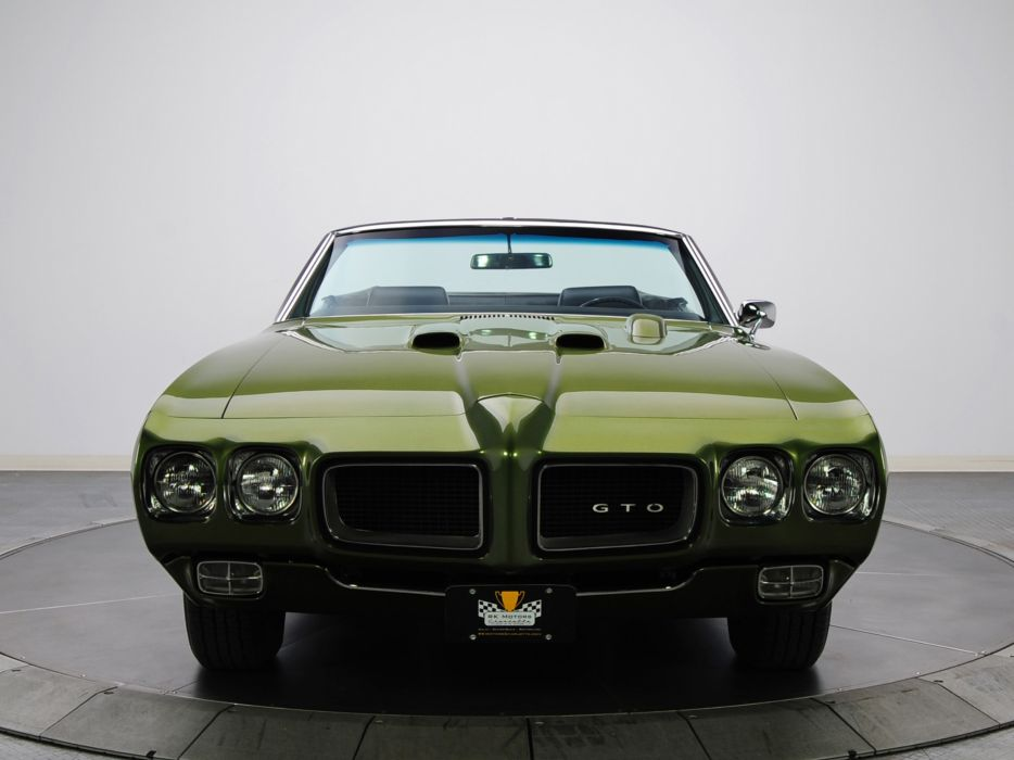 1970 Pontiac GTO Judge Convertible 4267 muscle classic   d wallpaper