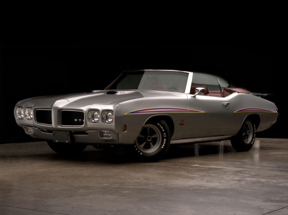 1970 Pontiac GTO Judge Convertible 4267 muscle classic  j wallpaper