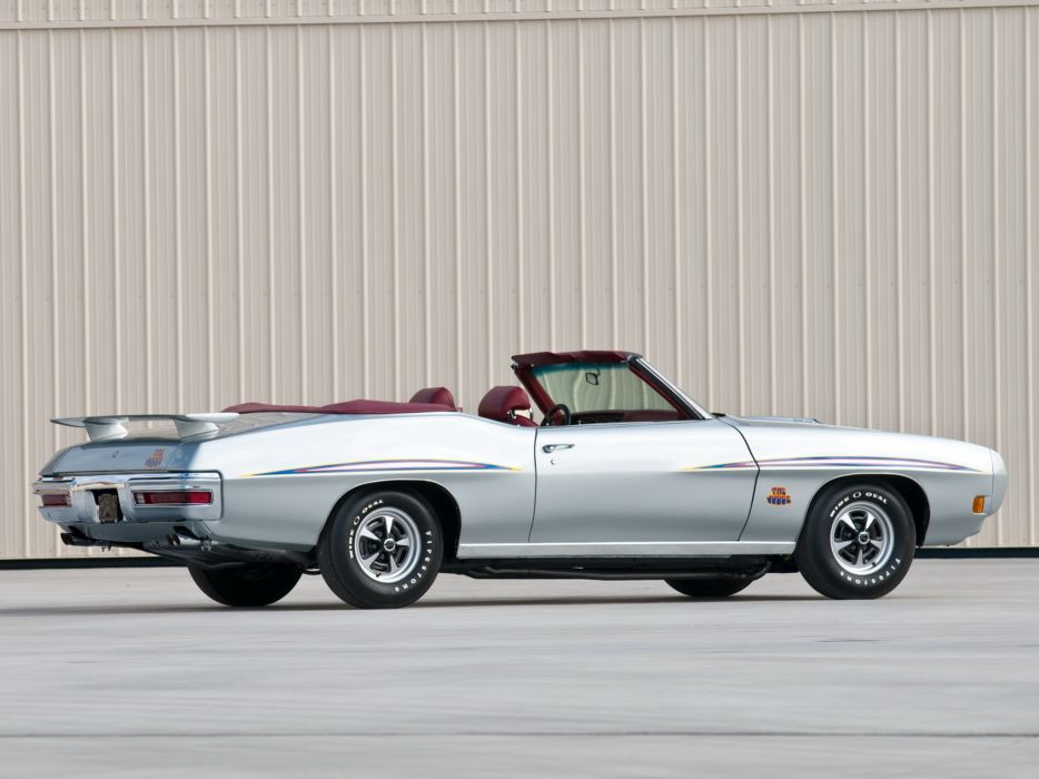 1970 Pontiac GTO Judge Convertible 4267 muscle classic wallpaper