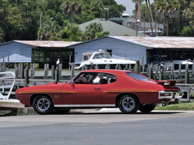 1970 Pontiac GTO Judge Hardtop Coupe 4237 muscle classic j wallpaper