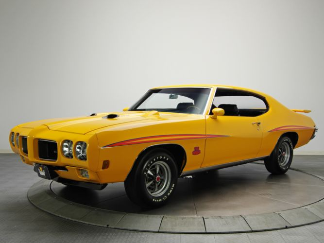 1970 Pontiac GTO Judge Hardtop Coupe 4237 muscle classic h wallpaper