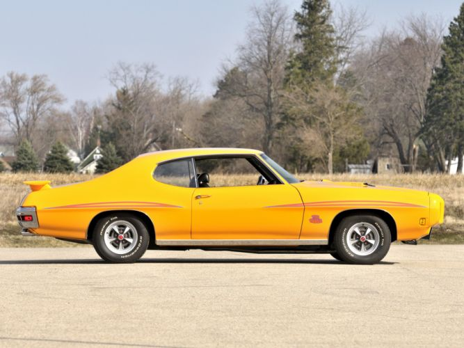 1970 Pontiac GTO Judge Hardtop Coupe 4237 muscle classic j wallpaper