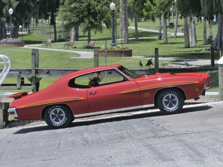 1970 Pontiac GTO Judge Hardtop Coupe 4237 muscle classic   n wallpaper