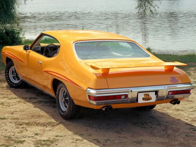 1970 Pontiac GTO Judge Hardtop Coupe 4237 muscle classic h wallpaper