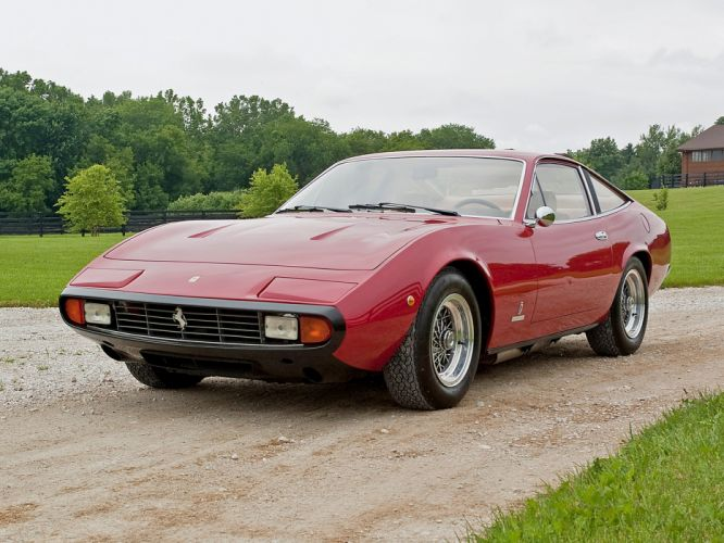 1971 Ferrari 365 GTC-4 supercar supercars wallpaper