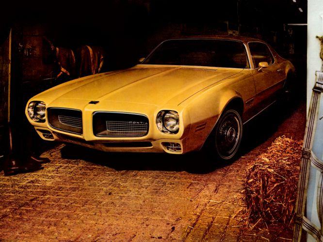 1971 Pontiac Firebird Esprit muscle classic wallpaper