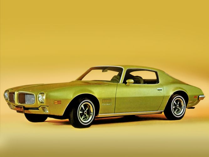 1971 Pontiac Firebird muscle classic wallpaper