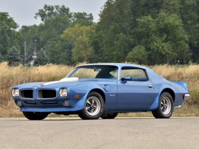 1971 Pontiac Firebird Trans-Am 2887 muscle classic f wallpaper