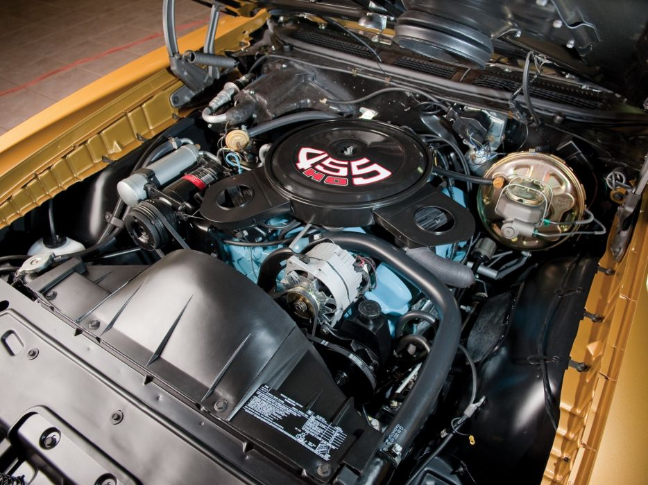 1971 Pontiac GTO Judge Convertible muscle classic muscle classic engine engines wallpaper
