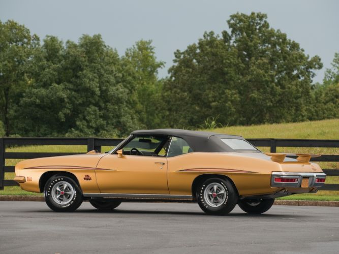 1971 Pontiac GTO Judge Convertible muscle classic muscle classic wallpaper