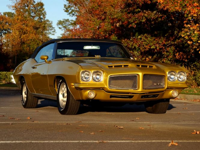 1971 Pontiac GTO Hardtop Coupe muscle classic wallpaper