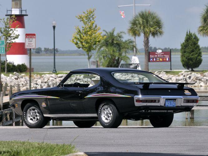 1971 Pontiac GTO Judge Hardtop Coupe muscle classic h wallpaper