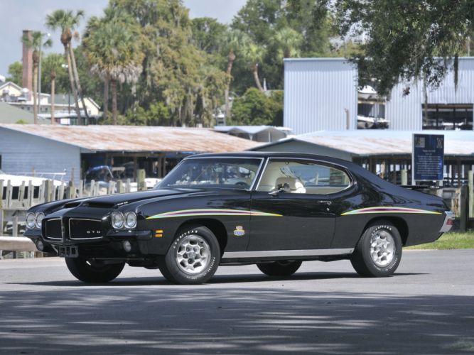 1971 Pontiac GTO Judge Hardtop Coupe muscle classic jj wallpaper