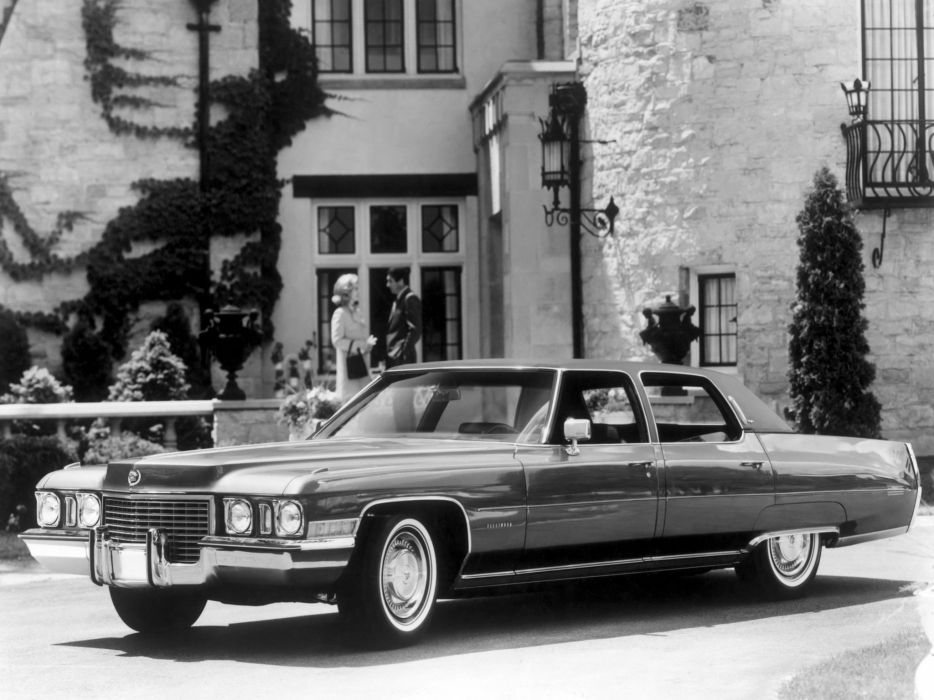 1972 Cadillac Fleetwood Sixty Special Brougham B69-P luxury retro wallpaper