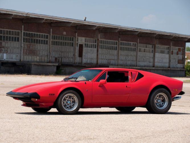 1972 De-Tomaso Pantera L supercar supercars classic Tomaso f wallpaper