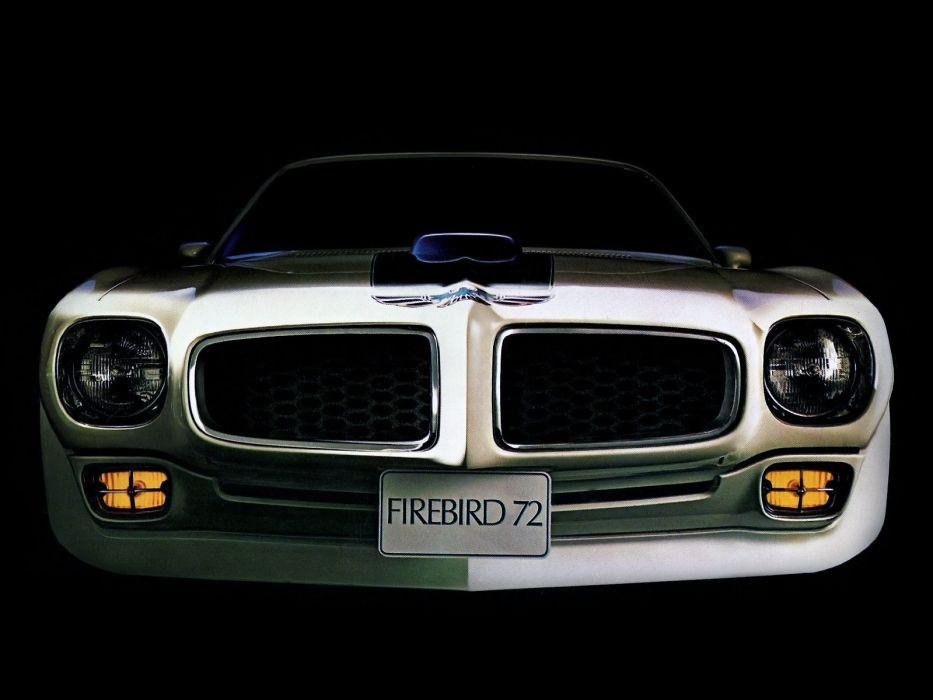 1972 Pontiac Firebird Trans Am Muscle Classic Trans Wallpaper