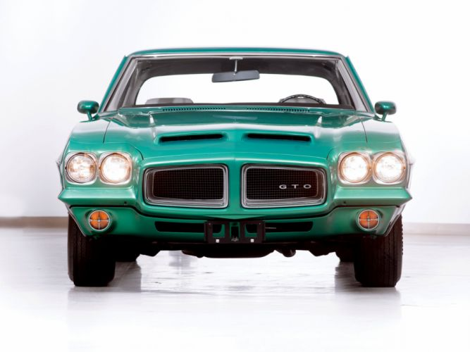 1972 Pontiac GTO Coupe muscle classic h wallpaper