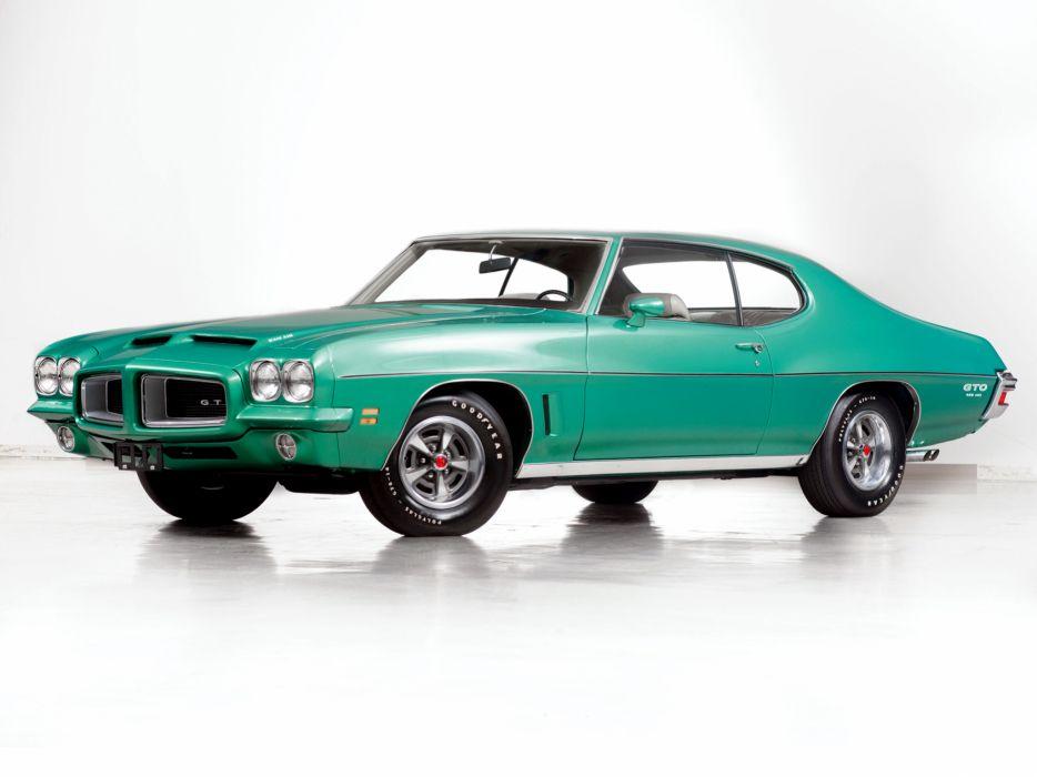 1972 Pontiac GTO Coupe muscle classic   j wallpaper