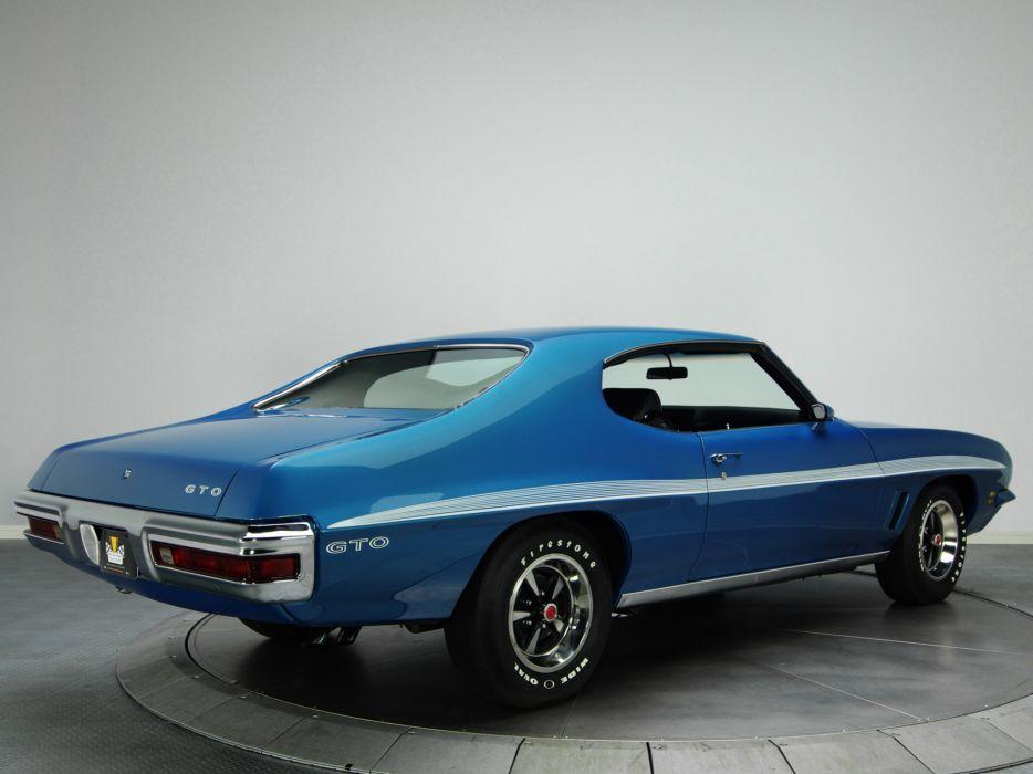 1972 Pontiac LeMans GTO Hardtop Coupe D37 muscle classic   j wallpaper