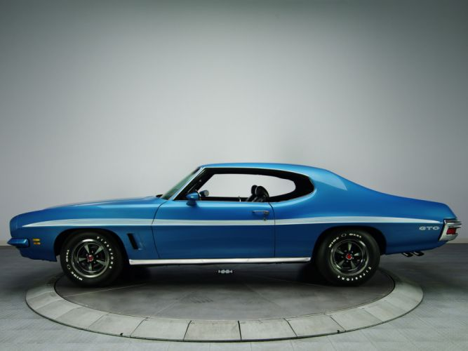 1972 Pontiac LeMans GTO Hardtop Coupe D37 muscle classic jr wallpaper