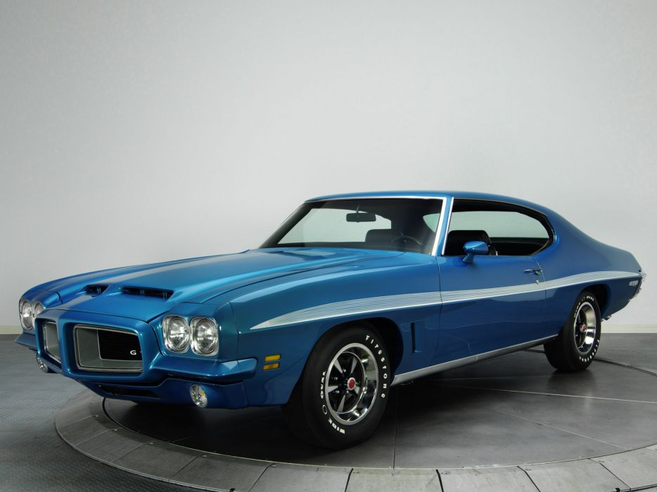 1972 pontiac lemans gto hardtop coupe d37 muscle classic. Black Bedroom Furniture Sets. Home Design Ideas