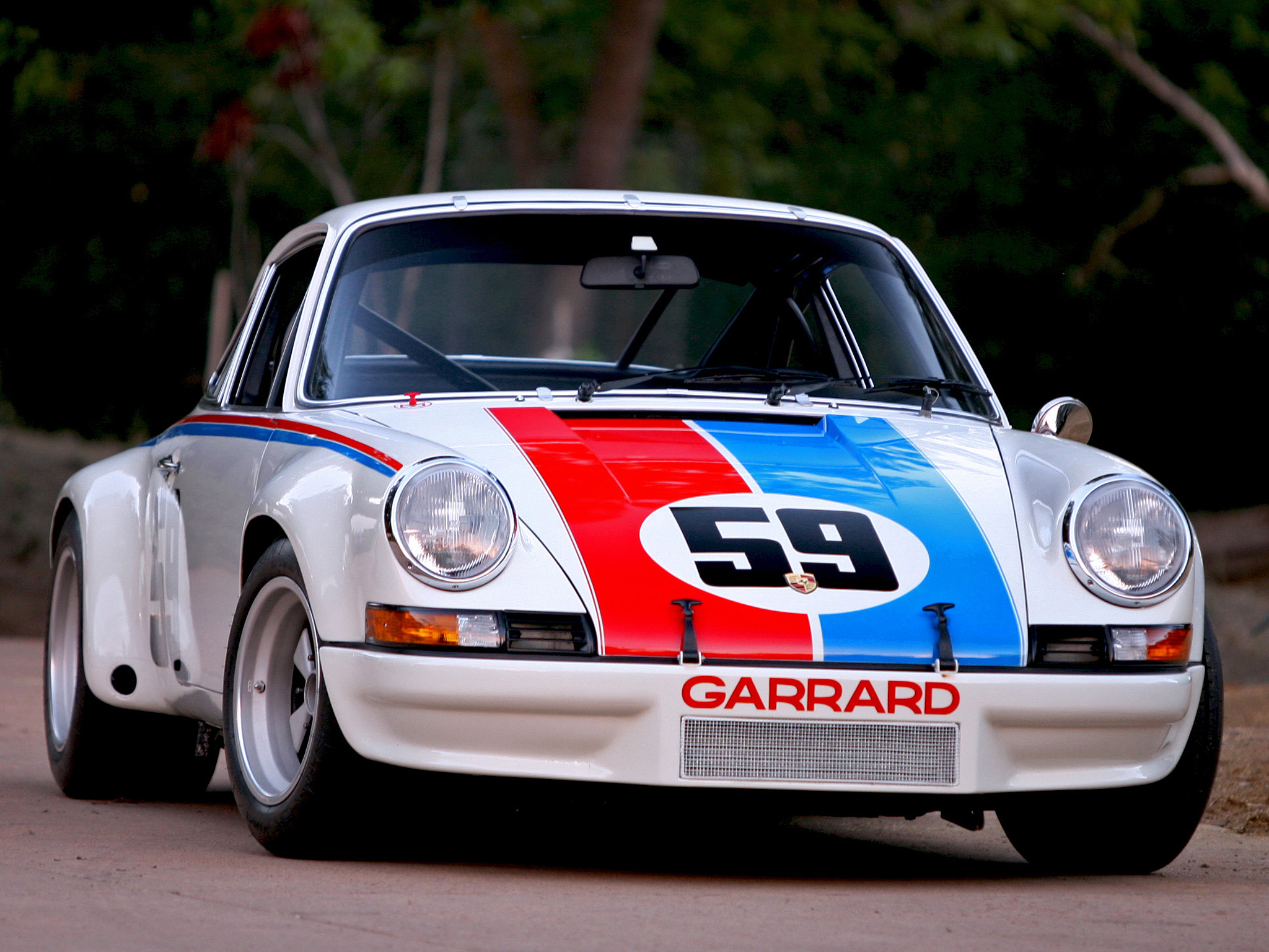 Car Wallpaper >> 1972 Porsche 911 Carrera RSR Coupe supercar supercars race racing classic g wallpaper ...