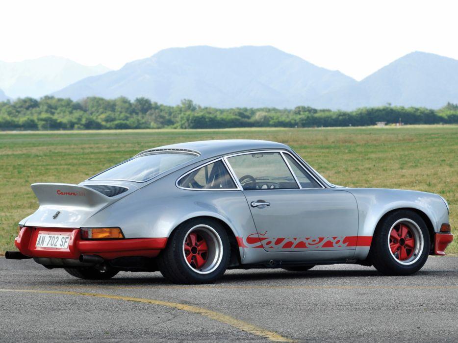 1972 Porsche 911 Carrera RSR Coupe supercar supercars race racing classic   g wallpaper