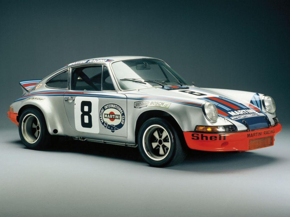 1972 Porsche 911 Carrera RSR Coupe supercar supercars race racing classic h wallpaper