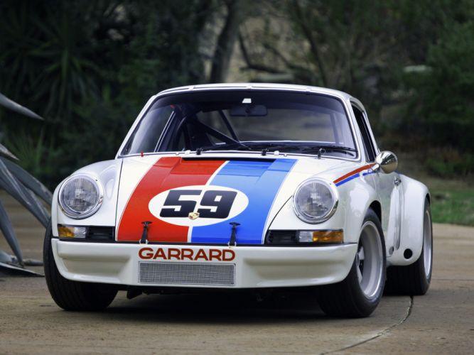 1972 Porsche 911 Carrera RSR Coupe supercar supercars race racing classic wallpaper