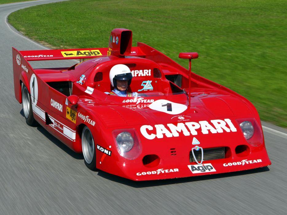 1973 Alfa Romeo Tipo 33TT12 race racing classic wallpaper