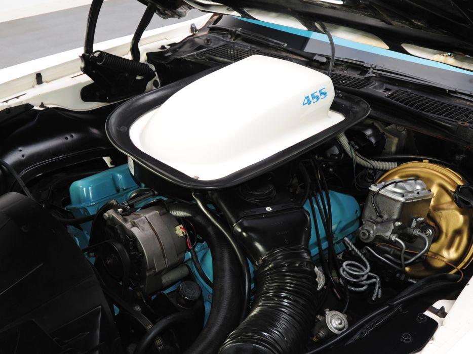 1973 Pontiac Firebird Trans-Am V87 muscle classic engine engines wallpaper