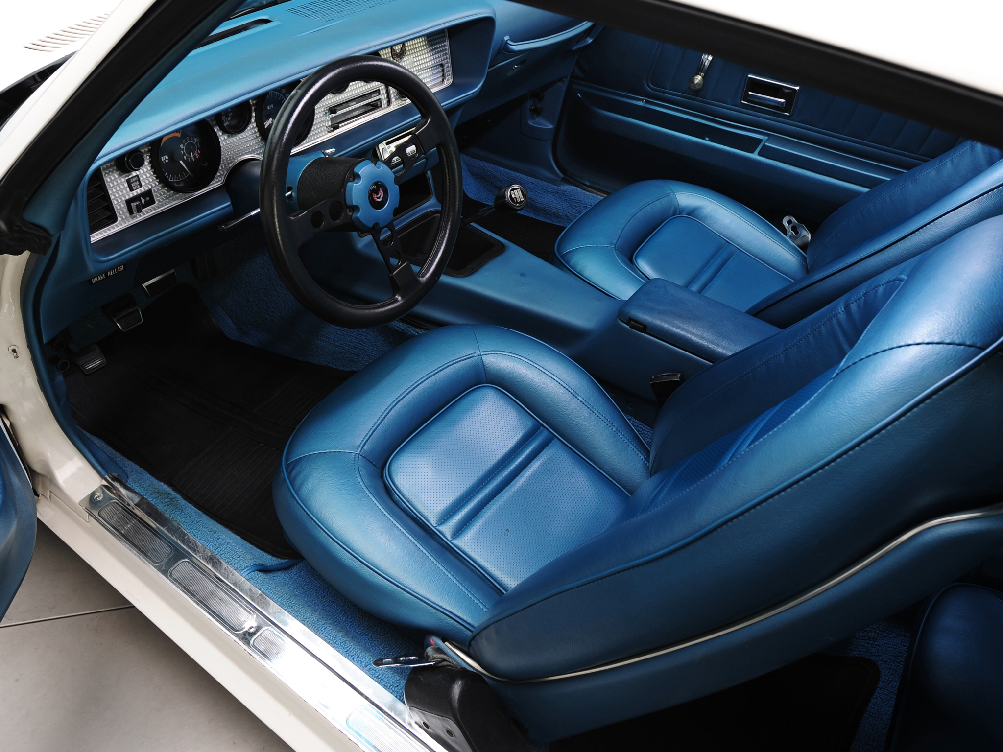 1973 Pontiac Firebird Trans Am V87 Muscle Classic Interior Wallpaper 2048x1536 116036