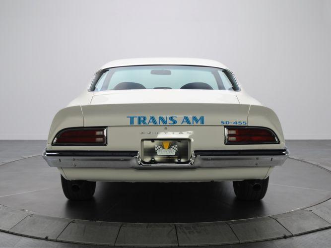 1973 Pontiac Firebird Trans-Am SD-455 trans muscle classic wallpaper