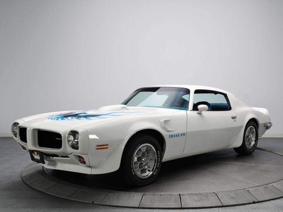 1973 Pontiac Firebird Trans-Am V87 muscle classic     f wallpaper