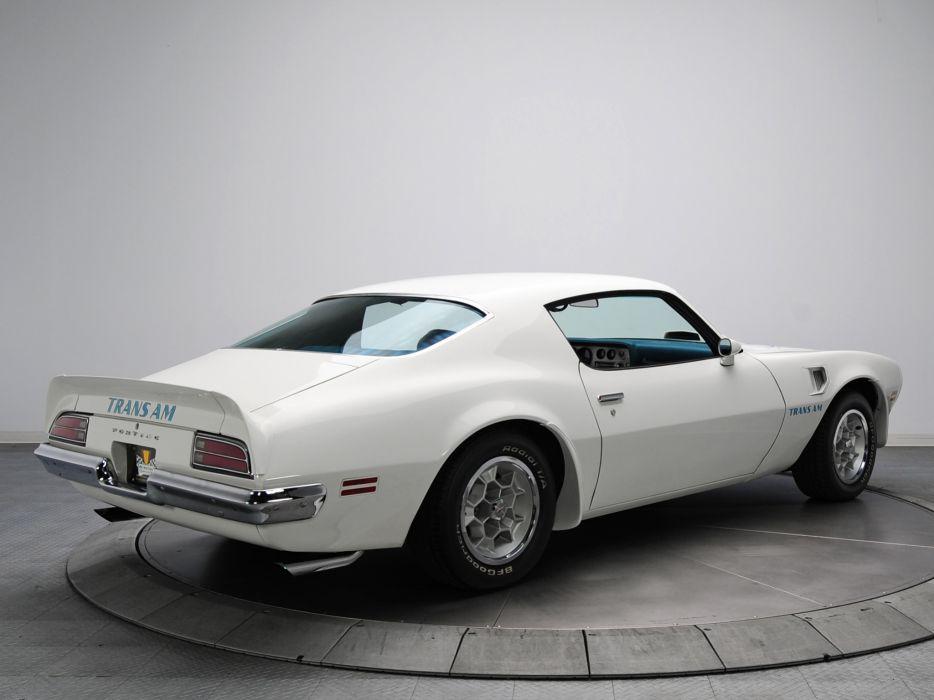 1973 Pontiac Firebird Trans-Am V87 muscle classic wallpaper