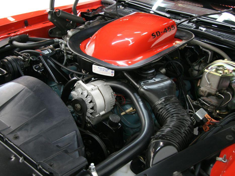 1974 Pontiac Firebird Trans-Am SD-455 muscle classic 455 trans engine engines  f wallpaper